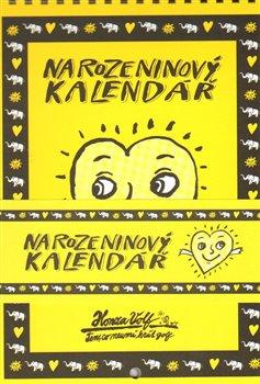 Obálka titulu Narozeninový kalendář