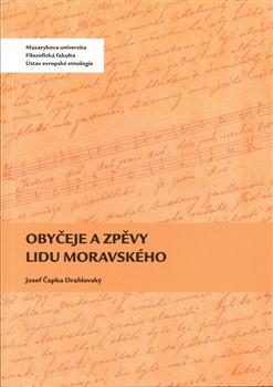 Obálka titulu Obyčeje a zpěvy lidu moravského