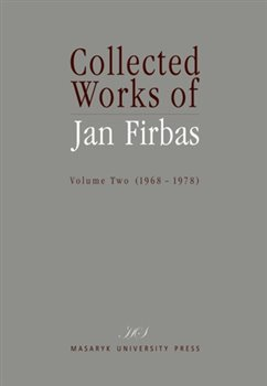 Obálka titulu Collected Works of Jan Firbas