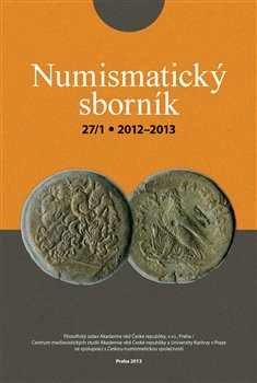 Obálka titulu Numismatický sborník 27/1 (2012–2013)