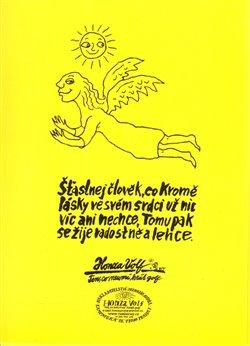 Obálka titulu Šťastnej člověk - pohlednice
