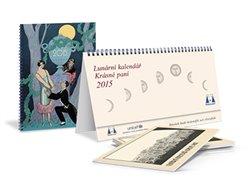 Obálka titulu Lunární kalendář 2015 Krásné paní s přílohou publikace