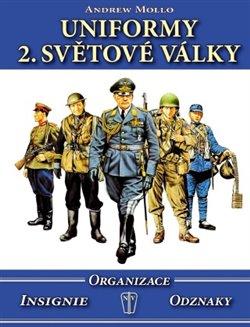 Obálka titulu Uniformy 2. světové války