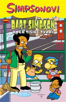 Obálka titulu Bart Simpson 10 6/2014: Hoch tisíce tváří