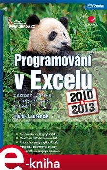 Obálka titulu Programování v Excelu 2010 a 2013