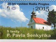 Kalendář 2015 s texty P. Pavla Šenkyříka