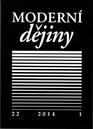 Moderní dějiny 22/1 2014