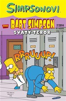 Obálka titulu Bart Simpson 11 7/2014: Svatý teror