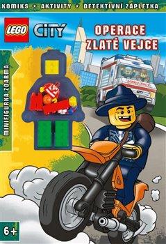 Obálka titulu Lego City Operace Zlaté vejce