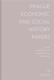 Prague Economic and Social History Papers 2013/2