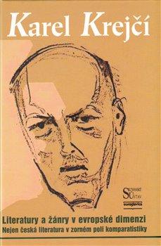 Obálka titulu Literatury a žánry v evropské dimenzi