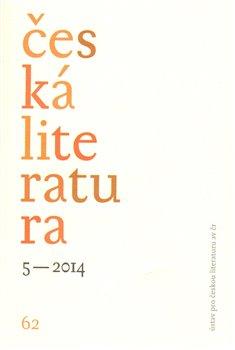 Obálka titulu Česká literatura 5/2014
