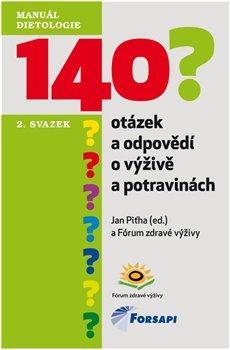 Obálka titulu 140 otázek a odpovědí o výživě a potravinách
