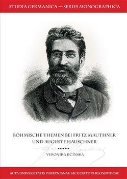 Obálka titulu Böhmische Themen bei Fritz Mauthner und Auguste Hauschner
