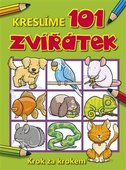 Obálka titulu Kreslíme 101 zvířátek krok za krokem