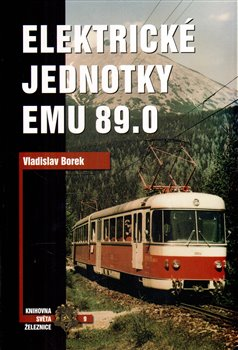 Obálka titulu Elektrické jednotky EMU 89.0