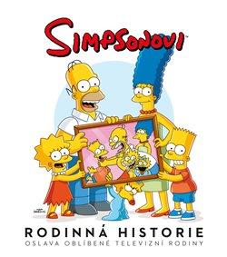 Obálka titulu Simpsonovi: Rodinná historie