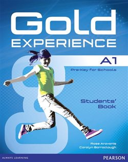 Obálka titulu Gold Experience A1 Students Book with DVD-ROM