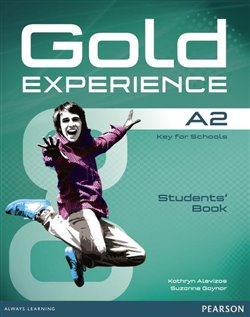 Obálka titulu Gold Experience A2 Students Book with DVD-ROM