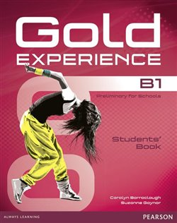 Obálka titulu Gold Experience B1 Students Book with DVD-ROM