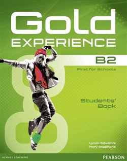Obálka titulu Gold Experience B2 Students Book with DVD-ROM