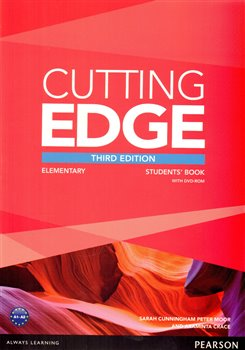 Obálka titulu Cutting Edge 3rd Edition Elementary Students' Book and DVD Pack