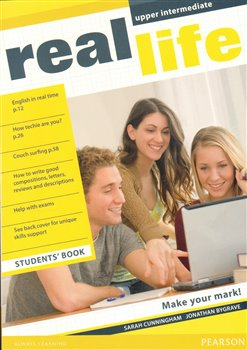 Obálka titulu Real Life Global Upper Intermediate Students Book