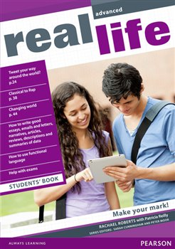 Obálka titulu Real Life Global Advanced Students Book