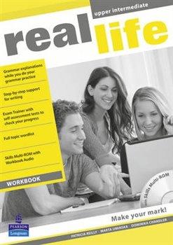 Obálka titulu Real Life Global Upper Intermediate Workbook & Multi-ROM Pack