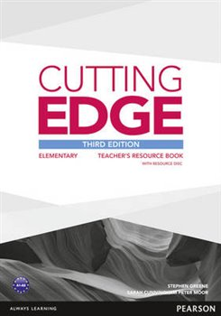 Obálka titulu Cutting Edge Elementary Teachers Book with Teachers Resources Disk Pack