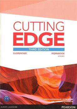 Obálka titulu Cutting Edge 3rd Edition Elementary Workbook with Key for Pack