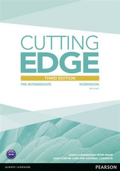 Obálka titulu Cutting Edge 3rd Edition Pre-Intermediate  Workbook with Key for Pack