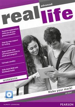 Obálka titulu Real Life Global Advanced Workbook & Multi-ROM Pack