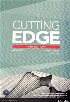 Obálka titulu Cutting Edge 3rd Edition Advanced Students' Book and DVD Pack