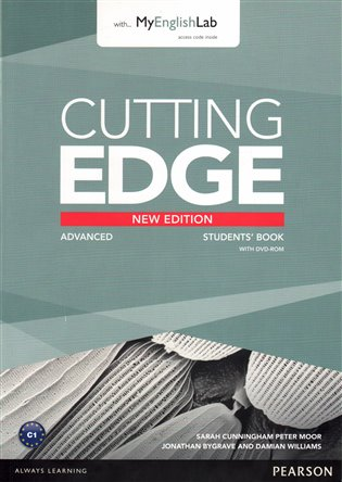 Cutting Edge 3rd Edition Advanced Students' Book with DVD and MyLab Pack