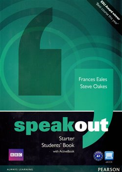 Obálka titulu Speakout Starter Students Book with DVD/active Book Multi ROM Pack