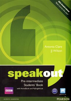 Obálka titulu Speakout Pre Intermediate  Students' Book with DVD/active Book and MyLab Pack