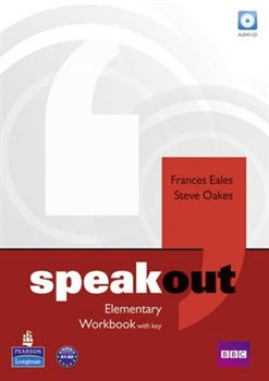 Obálka titulu Speakout Elementary Workbook with Key and Audio CD Pack