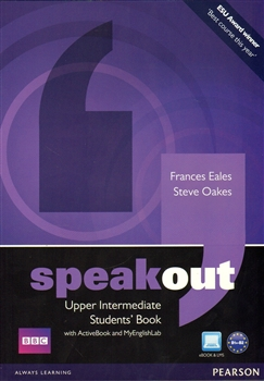 Obálka titulu Speakout Upper Intermediate Students' Book with DVD/active Book and MyLab Pack