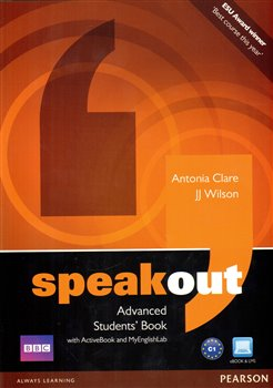 Obálka titulu Speakout Advanced Students' Book with DVD/active Book and MyLab Pack