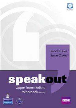 Obálka titulu Speakout Upper Intermediate Workbook with Key and Audio CD Pack