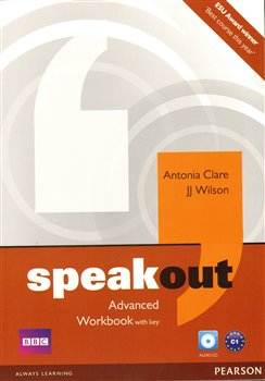 Obálka titulu Speakout Advanced Workbook with Key and Audio CD Pack