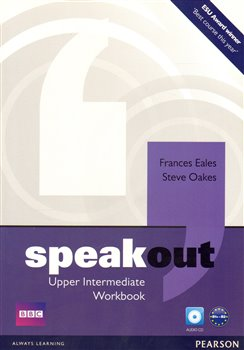 Obálka titulu Speakout Upper Intermediate Workbook No Key and Audio CD Pack