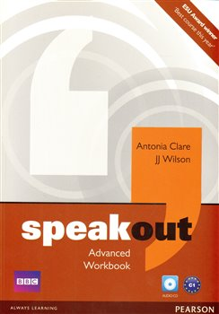 Obálka titulu Speakout Advanced Workbook No Key and Audio CD Pack