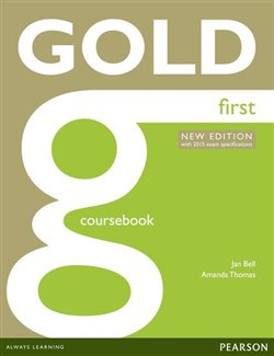 Obálka titulu Gold First Coursebook with online audio