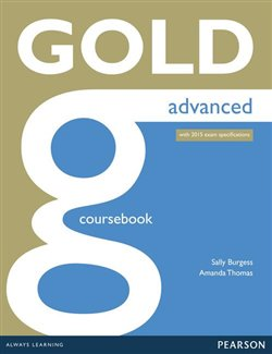Obálka titulu Gold Advanced Coursebook with online audio