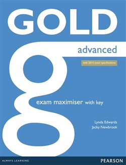 Obálka titulu Gold Advanced Exam Maximiser with online audio (with key)