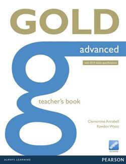 Obálka titulu Gold Advanced Teacher's Book with online resources