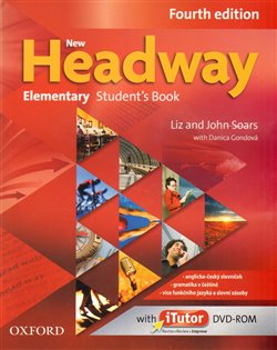Obálka titulu New Headway Fourth Edition Elementary Student´s Book with iTutor DVD-ROM(czech Edition)