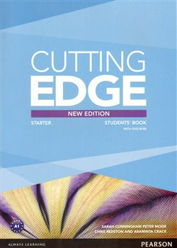Obálka titulu Cutting Edge 3rd Edition Starter Students Book with DVD